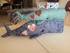 Love's Whales PatchWork, by Cateta
