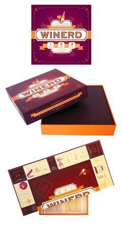 Winerd board game - Dubin Design