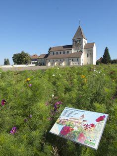 Basilika St. Georg auf der Insel Reichenau im Bodensee