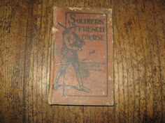WW1 private purchase soldiers French course by MuddyRiverIronWorks, $20.00