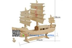 3d puzzle,3d wood jigsaw puzzle,3d diy toy,Best parent-child games,kids toy,fancy toy, intelligence toys, Educational Toys,blocks toys,building toys,ship,vessels toys,boat toys. Wooden China sailing