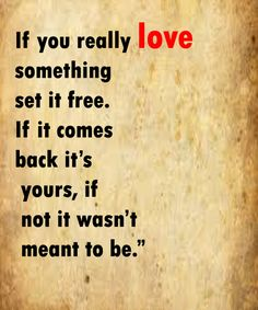 If You Really Love Someone -Love Quotes