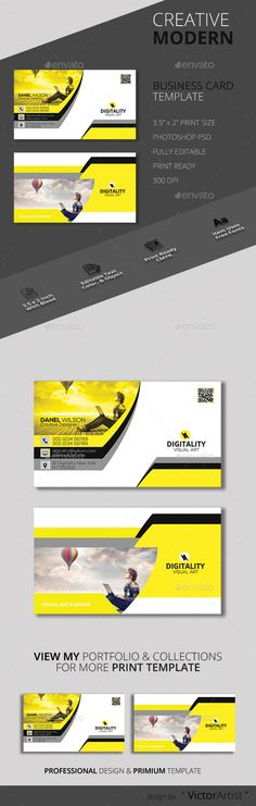 Round Vector Business Card Template Business Cards Print