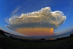 EstiloDF » FOTOS: La espectacular explosión del volcán Calbuco en Chile