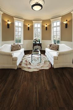 Get this look with new TrafficMASTER Allure Ultra wide plank vinyl flooring. It's 100% waterproof and easy to install. This floor is perfect for kitchens, basements and mudrooms.