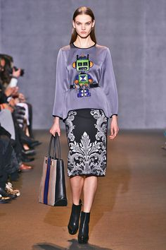 Who Won PFW? It's A 41-Way Tie #refinery29  http://www.refinery29.com/paris-fashion-week#slide14  Robots? Aliens? Whatever it is, we'll take it, Andrew Gn.