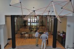 Open circular atrium, dramatically high ceilings, fantastic event backdrop