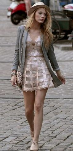 Summer outfit, Inspired by Serena Van Der Woodsen