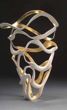 GlassArt.net | Jennifer McCurdy Pottery Art For Sale Jennifer Mccurdy, Niche Living, Living Room, Pottery Art, Old Art, Art For Sale, Bronze Sculpture, Home Accessories, Glass Art