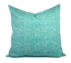 Two Indoor Outdoor Pillow Covers - 16 18 20 In - Aqua Pillow - Teal Pillow Covers - Patio Pillow - Turquoise Pillows - Outdoor Pillows by CastawayCoveDecor on Etsy https://www.etsy.com/listing/189778387/two-indoor-outdoor-pillow-covers-16-18