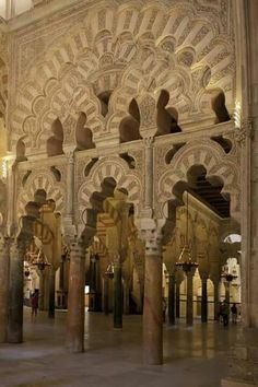 The Great Mosque of Cordob (aka The Mezquita Cordoba in Spanish) Islamic Architecture, Art And Architecture, Places To Travel, Places To See, Wonderful Places, Beautiful Places, Cordoba Andalucia, Valence, Spain And Portugal