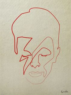One line illustrations : 16 portraits minimalistes d'icônes pop | MinuteBuzz