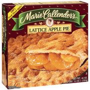 Marie Callender's Lattice Apple Pie:  3 grams/serving