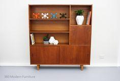 Mid Century Sideboard Room Divider Bar Shelves Cabinet Slim Vintage Retro Scandi in Home & Garden, Furniture, Sideboards, Buffets & Trolleys   eBay 360 Modern Furniture $1100