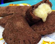 Pastel de Chocolate | Pães e salgados > Pastel | Mais Você - Receitas Gshow
