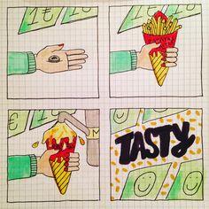 Instagram/putismayer_illustration #comic #illustration