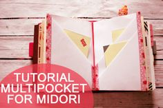 Lucy wonderland: TUTORIAL multipocket for midori travelers notebook