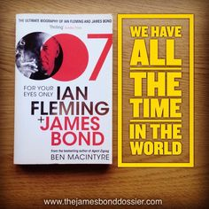 Another book on Ian Fleming. Hardly remember this one!