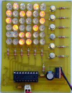 FANCY LEDS Hobby Electronics, Electronics Projects, Electronic Schematics, Electrical Projects, Circuit, Fancy, Technology, House, Ideas