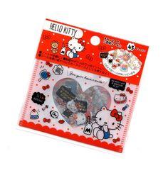 50 Sanrio Hello Kitty flake sack stickers cute kawaii collectible HTF special