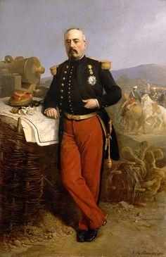 Achille Bazaine (Versailles, 1811-Madrid, 1888) était entré dans l'armée en 1831. Après avoir servi en Algérie et en Espagne, il fut promu général, se distingua lors de la guerre de Crimée et de la campagne d'Italie. Envoyé au Mexique en 1862, il devint célèbre en s'emparant de Puebla en 1863 et fut fait maréchal de France en 1864. Cependant l'expédition décidée par Napoléon III pour établir un empire latin et catholique ouvert aux intérêts français devait être l'un des grands échecs de la…