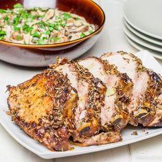 Жареная свинина с розмарином и чесноком — Рецепты с фото, домашние рецепты, рецепты тортов, салаты на Onecook.ru