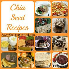 Chia Seed Recipe Collection