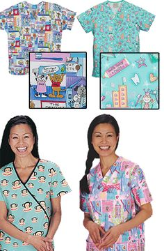 Dental Scrubs and more. Cute online scrub store