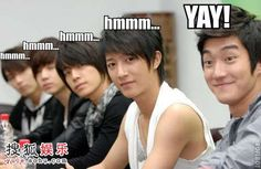 Suju ~ don't know why but this makes me smile.