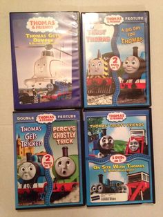 Thomas The Train & Friends DVD Lot Trust Thomas A Big Day for Thomas #thomasthetrain   #kidsdvd