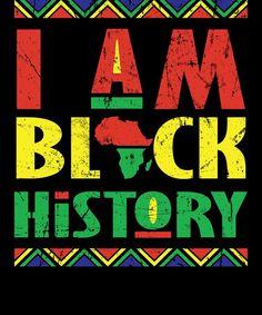 Black History Month African Pride Apparel Gift Digital Art by . Black Girls Power, Black Girl Art, Black Power, Black Girl Magic, Culture Shirt, Black Artwork, Lady Biker, Black Pride, African American History