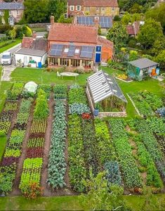 Holy sweet moly Check out the garden of dowding, coauthor of NO DIG ORGANIC HOME & GARDEN, distributed in the US by Chelsea Green! Never too soon to start planning for next year! is part of Dig gardens - Dig Gardens, Amazing Gardens, Potager Garden, Garden Landscaping, Permaculture Garden, Vegetable Garden Planning, Vegetable Gardening, Home Vegetable Garden Design, Gardening Books