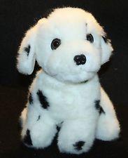 "Prettique PLush Dalmatian Stuffed Animal 10"" Lovey Sweet Face Puppy Dog"
