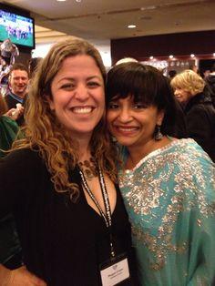 Megan Crane (Caitlin Crews) and Nalini Singh - RWNZ 2013 Conference