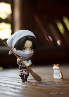 cute cleaning levi nendoroid Nendoroid, Anime Expo, Itachi Uchiha Art, Anime Figures, Anime Merchandise, Anime, Mystic Messenger Fanart, Anime Figurines, Nendoroid Anime