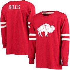 Tips To Choose Mens Buffalo Bills Pro Line Red Gridiron Legend Jersey Long Sleeve T-Shirt
