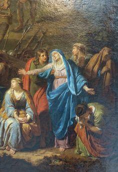 Nicolas de POILLY le Jeune Paris, 1675 – Paris, 1747 Le Christ cloué sur la croix Huile sur toile 1697 Acquisition, 1969 Abbeville, Musée Boucher-de-Perthes