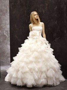 Top Wedding Dress Designers 2014:Vera Wang