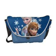 Anna and Elsa Snowflakes Messenger Bag Disney Frozen Elsa, Disney Fun, Disney Style, Best Messenger, Messenger Bags, Disney Princess Gifts, Pack Your Bags, Fandom Outfits, Disney Merchandise