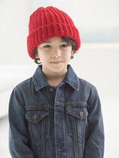Image of Child's Easy Crochet Hat