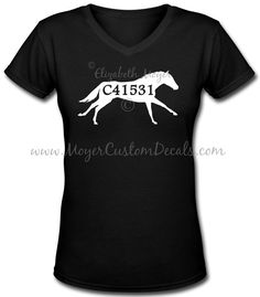OTTB Heartbeat Dressage Horse Decal Sticker Off Track TB You Choose Color