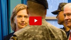 """Dom Raso, a former Navy SEAL, risked everything to slam Hillary Clinton and tell Americans exactly what she's like. In a video that's quickly going viral, Raso called Clinton out for lying """"in order to make herself appear as courageous as American soldiers."""" He was referring to the lie Clinton told about dodging enemy fire"""
