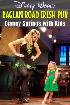 Is an Irish pub a good place for kids? If it's the Raglan Road Rollicking Raglan Brunch at Walt Disney World Disney Springs, then YES, it's perfect! Find out what there is to eat & drink at brunch, how kids can get on stage for an Irish dance lesson, what to expect and even what NOT to order off the menu! #RaglanRoad #IrishPub #DisneySprings #DisneyTips | Travel with Kids | Family Travel | Restaurant Dining | Orlando | Florida | Eating Out Disney World Tips And Tricks, Disney Tips, Disney World Resorts, Walt Disney World, Disney Parks, Travel With Kids, Family Travel, Disney Cruise Line, Disney Travel