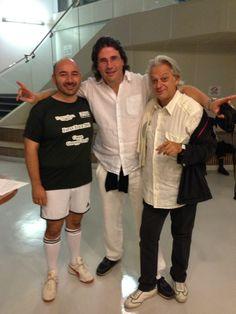 #ScalaTourJapan - 10/09/2013 - Tokyo - Coppa Verdi - Riccardo Botta, Massimo Cavalletti and Nicola Pamio http://www.teatroallascala.org/en/season/tours/2012-2013/japan/japan.html