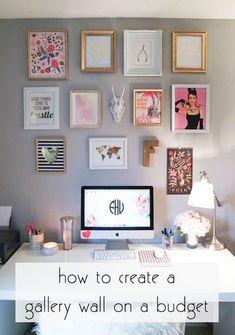 Erstellen Sie Ihre Eigene Galeriewand Mit Einem Budget.
