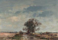 Edward Seago. The Marsh Lake after Rain. Edward Seago