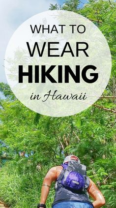 Hiking tips for beginners with what to wear hiking! Hiking gear list for Hawaii, outdoor travel destinations, and day hikes during your summer road trip. Hiking mountains or easy trails, be prepared! There are essentials when it comes to hiking gear. Things to pack for Hawaii vacation and put on the packing list! Hiking is cheap or free, so it's a perfect budget activity of things to do when you travel, and then end your day at the beach, whether it's Oahu, Kauai, Maui, or the Big Island!