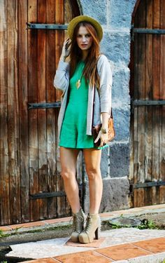 St Patrick's day Outfit Ideas - mint dress, rivet shoes, St Patrick's day fashion ideas  #outfit #girls #fashion www.loveitsomuch.com
