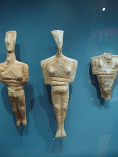 Cyclades, Ashmolean: fascinated by these. Sacred Feminine, Divine Feminine, Greek Culture, Sculpture Projects, Idole, Minoan, Iron Age, Prehistory, Ancient Civilizations