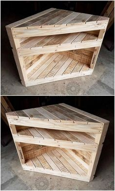Recycled Pallets Ideas Awesome DIY Pallet Ideas to Tryout This Year - Pallet Furniture Designs, Wooden Pallet Projects, Wooden Pallet Furniture, Pallet Designs, Woodworking Projects Diy, Wooden Pallets, Diy Furniture, Pallet Ideas, Pallet Wood